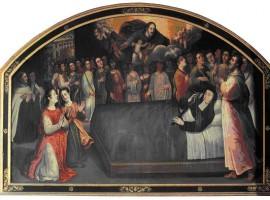 Celda de la Muerte de la Santa Procesión de los Mártires en Carmelitas Descalzas, Sepulcro de Santa Teresa