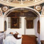 Celda de la Muerte de Santa Teresa en Carmelitas Descalzas, Sepulcro de Santa Teresa