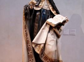 Escultura de Gregorio Fernández en Carmelitas Descalzas, Alba de Tormes