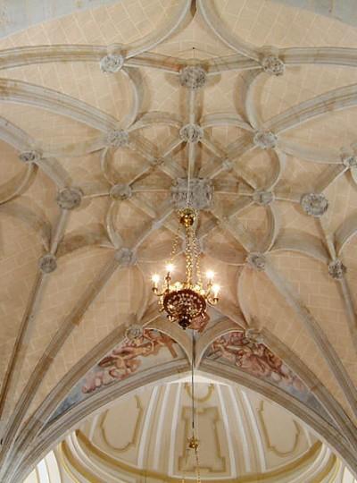 Bóveda de Crucería en Carmelitas Descalzas, Alba de Tormes