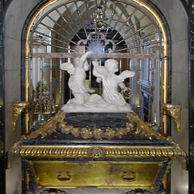 Sepulcro de Santa Teresa en Carmelitas Descalzas, Sepulcro de Santa Teresa
