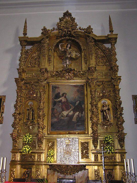 Santa Teresa recibiendo el dardo del Ángel
