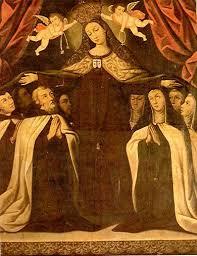 Protección de la Virgen del Carmen a Santa Teresa
