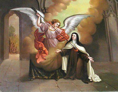 La visión de Santa Teresa