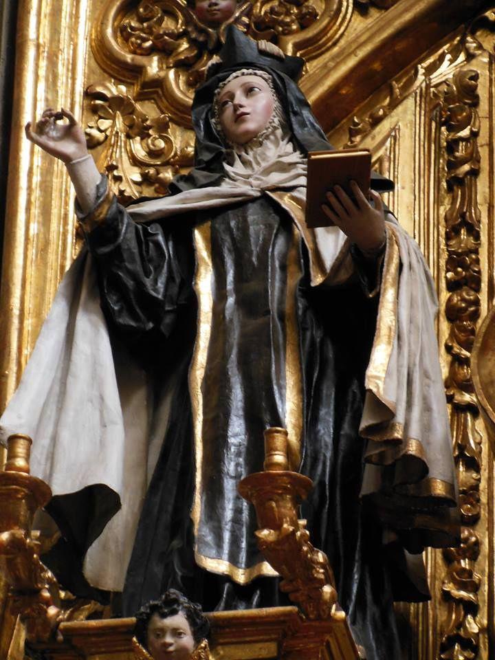 Santa Teresa de Jesús. Retablo Altar Mayor