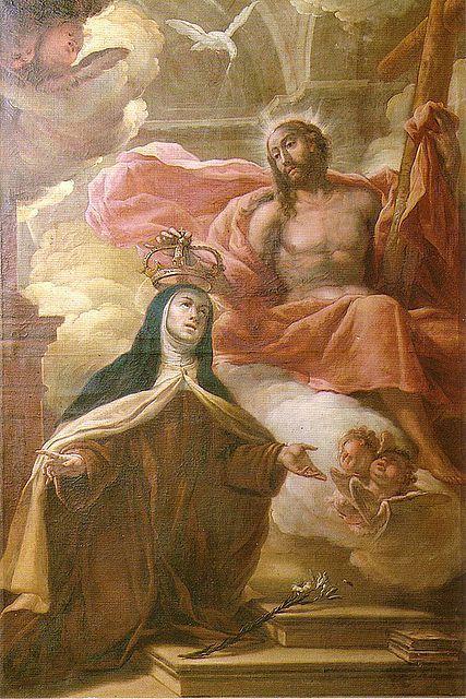 Coronación mística de Santa Teresa de Jesús
