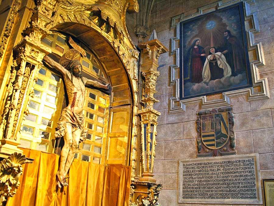 Capilla del Cristo de la Agonía (visión de Santa Teresa)