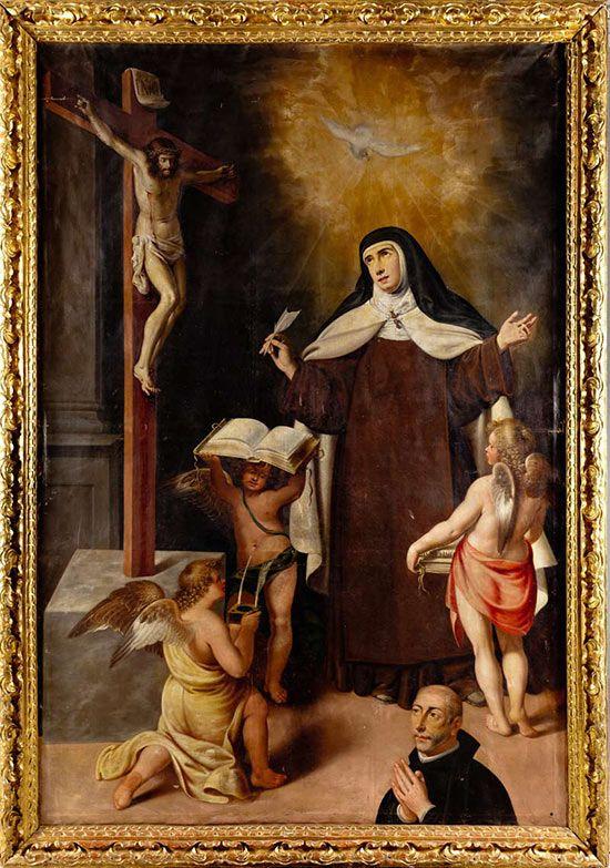 Visión de Santa Teresa