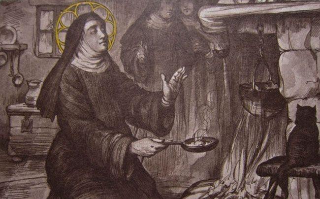 Santa Teresa en la cocina de San José de Ávila