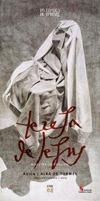 """Cartel para anunciar la edición extraordinaria de la muestra de arte sacro """"Las Edades del Hombre"""" que tendrá lugar entre los meses de Abril y Noviembre de 2015"""